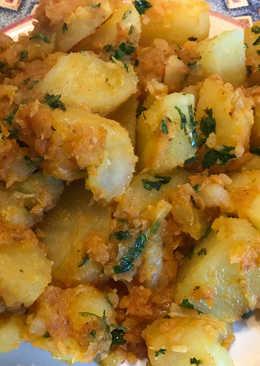 Patatas aloo jeera - al estilo de la india  #Recetasdefindemes