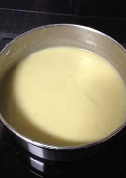 Crema de puerros