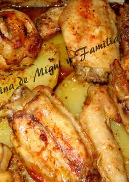 Alitas de pollo adobo 18 recetas caseras cookpad - Adobo de alitas de pollo ...
