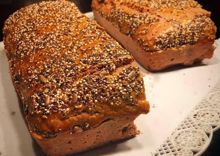 Receta de pan vegano