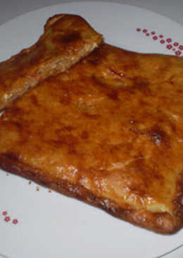 Empanada casera de atún