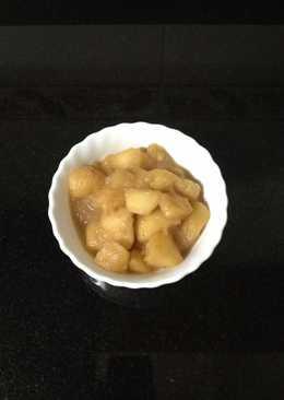 "Compota de manzana ""a mi manera"" ☺️"