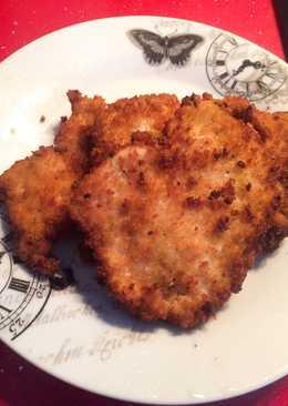 Filetes de pollo rebozados
