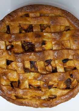 Tarta de manzana holandesa (appeltaar)