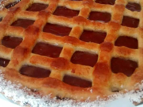 Pasta frola fácil con harina leudante
