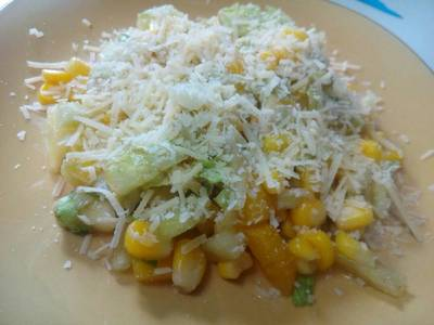 Ensalada dulce con maíz