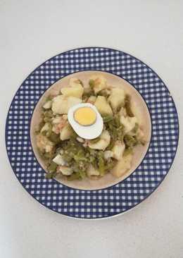 Ensalada de judías verdes y patatas (Olla Gm g)