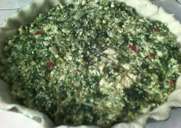 Tarta de espinaca y berenjenas receta de flor martinez for Espinacas como cocinarlas