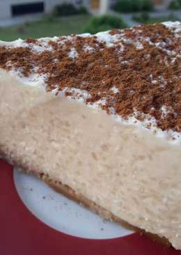 Tarta de arroz con leche (en thermomix)