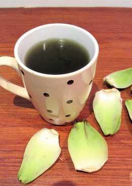 Infusión de alcachofa, puerro y cebolla