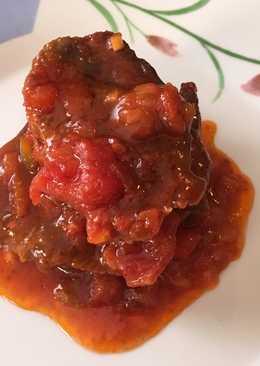 Carrilleras de ternera con tomate