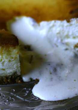 Tarta de queso coulant