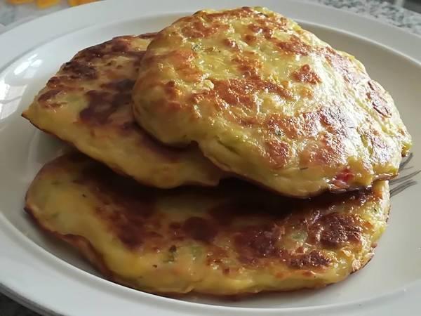 Tortitas de Chayota