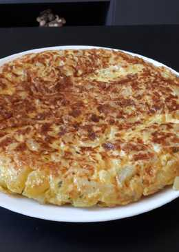Tortilla de patatas light rápida