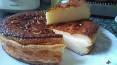 Tarta de queso al horno(sin lactosa)