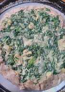 Tarta de acelga con masa de harina íntegral superfácil!