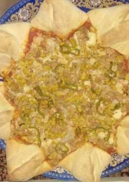 Pizza estrella
