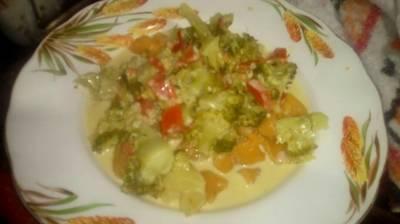 Ñoquis de calabaza sin Tacc, con salsa de crema de brócoli