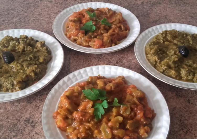 Ensaladas veganas recetas fciles y ricas Receta de Comida Marroqu
