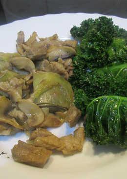 Combinado de verduras con carne y Kale