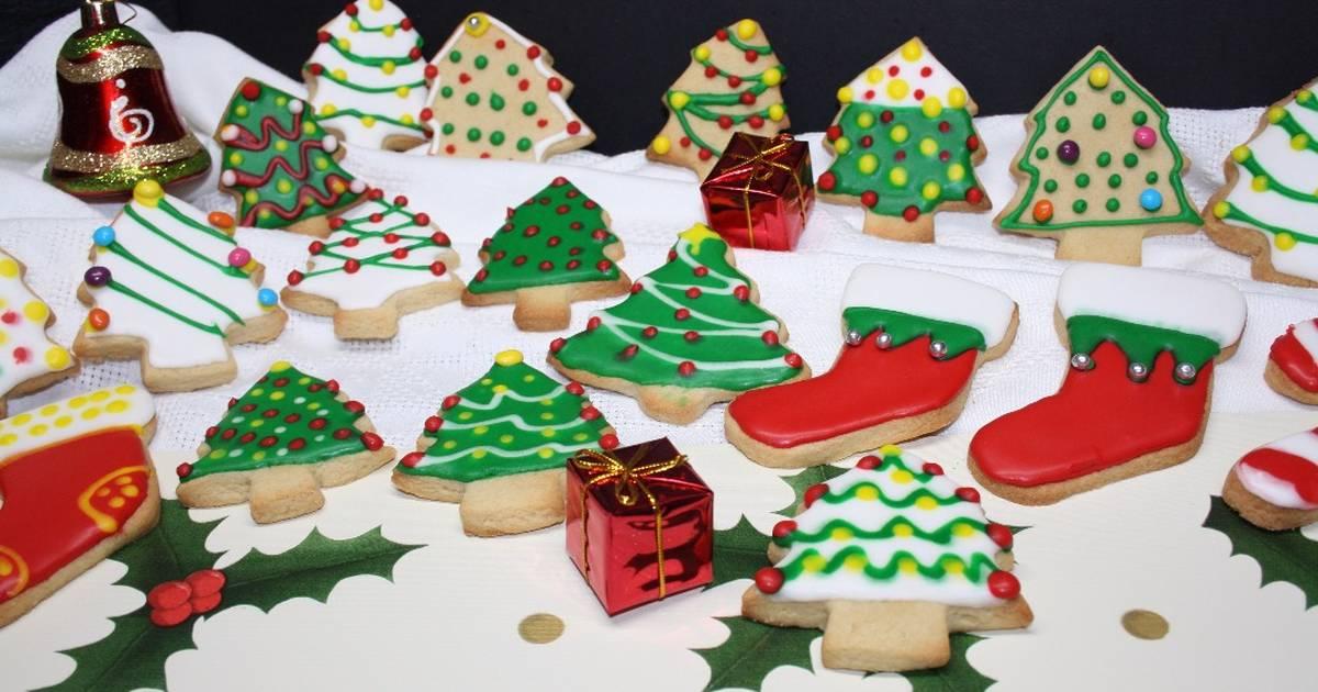 Imagenes De Galletas De Navidad Decoradas.Galletas De Navidad Decoradas