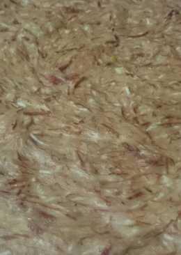 Masa de croquetas de jamón de pueblo. Bychusmi
