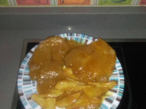 Filete de💠pollo🐔con salsa de🍊 naranja 🍴Mi manera 💠💠