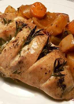 Pechugas de pollo al horno recetas caseras cookpad - Pechugas de pollo al horno ...