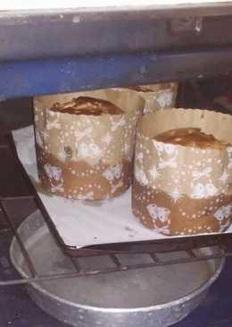 Pan dulce con nueces y chocolate