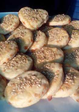 Masitas de queso con semillas