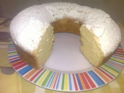 Torta de leche alta y esponjosa, sin huevos ni manteca!