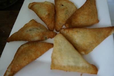 Empanadas de pan de molde