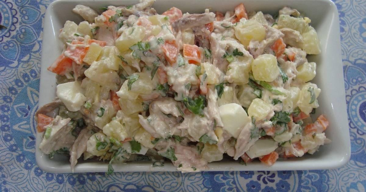 Ensalada de papa y zanahoria 35 recetas caseras cookpad - Ensalada de zanahorias ...
