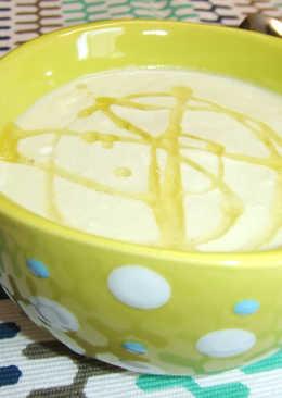 Sopa fría de melón y aguacate a la lima