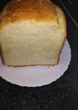 Pan para sándwiches en la panificadora