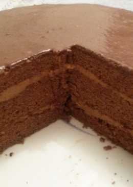 Torta esponja de café