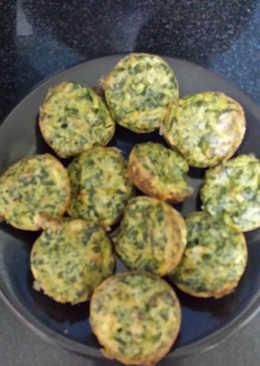Buñuelos al horno en molde de muffins. SUPER LIGHT sin aceite