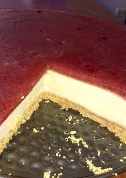Cheesecake de fresa 🍓