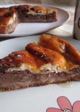 Pastel de queso marmolado diet