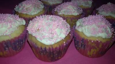 Muffins de vainilla, de Jimena Monteverde