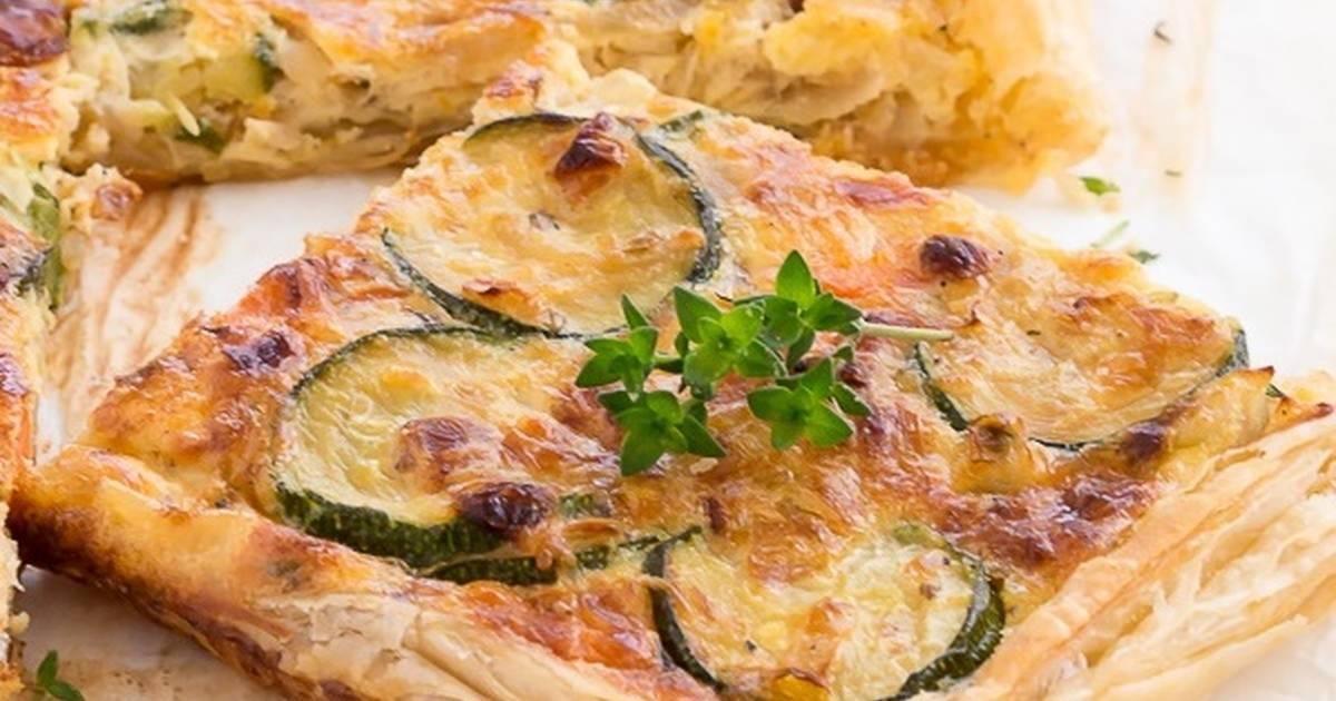 Hojaldre de verduras receta de azafrandehebra cookpad - Hojaldre de puerros y gambas ...
