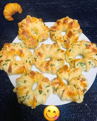 Pan Especial Relleno con carne molida y queso!!
