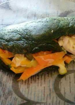 Taco de verduras
