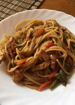 Espaguetis orientales
