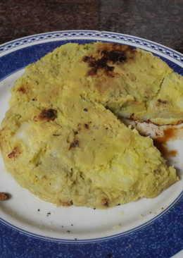"""Tortilla"" de boniato vegana"