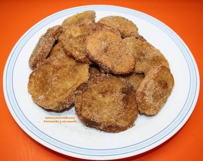 Torrijas tradicionales de horchata