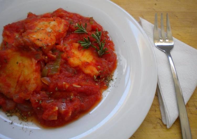 Pez espada con tomate receta de pez espada cookpad for Pez espada en salsa de almendras