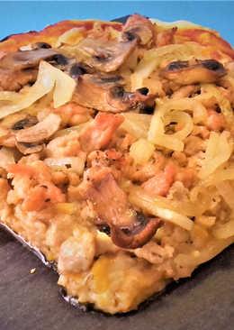 Pizza campera de pollo