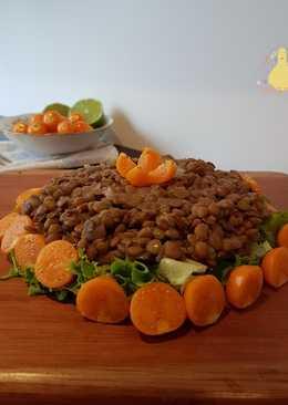 Ensalada templada de Lentejas y Uchuvas!!!