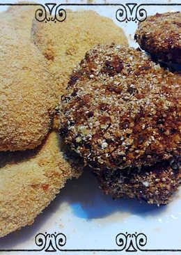 Nuggets de pollo y muesli